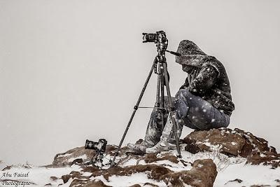 Fotógrafo congelado