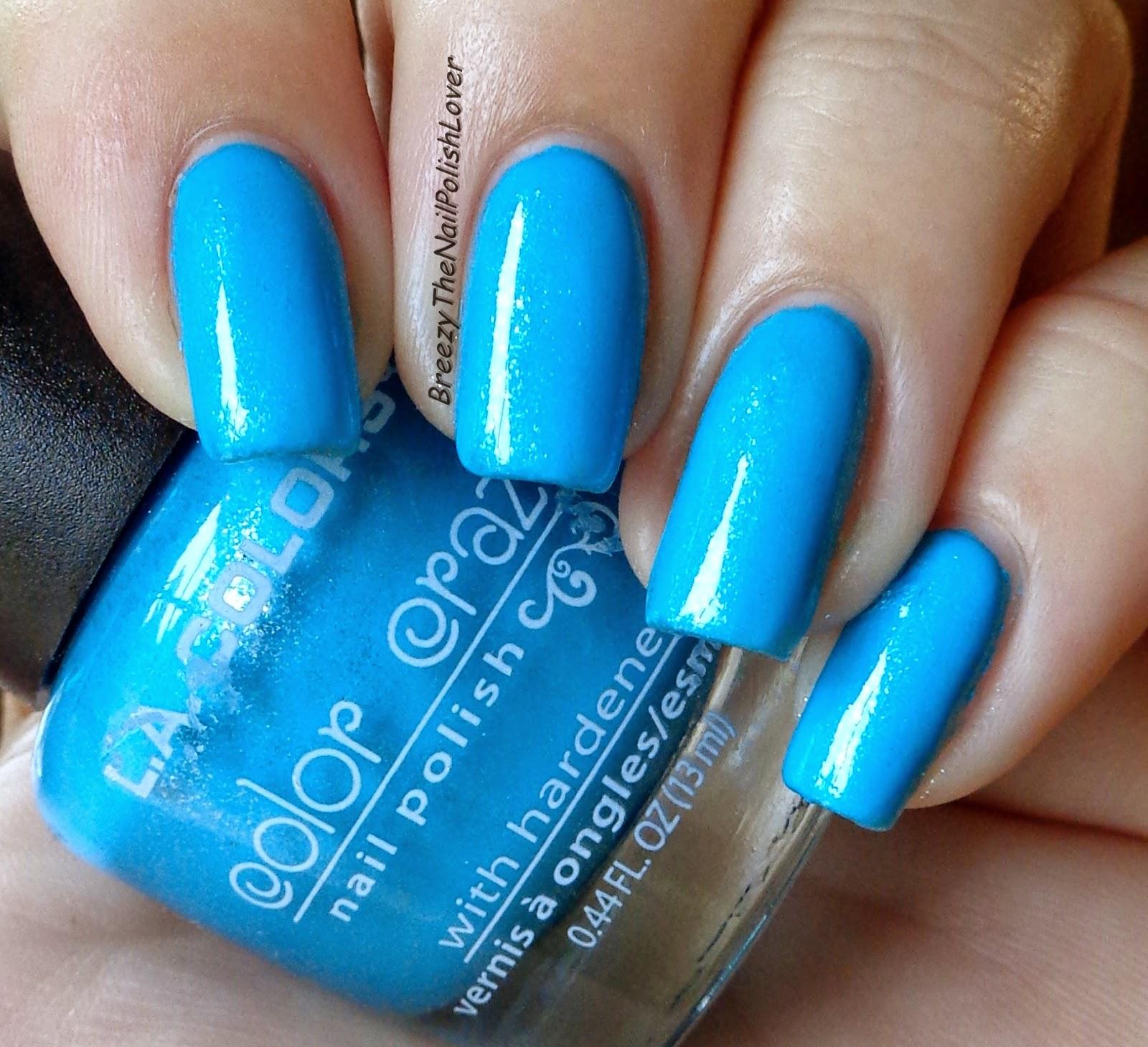 Breezythenailpolishlover New L A Color Nail Polish