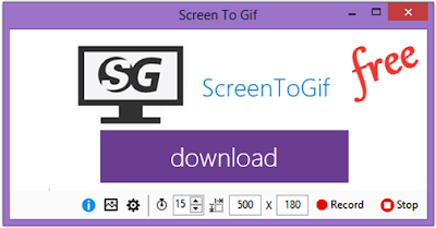 Screen to Gif Δωρεάν