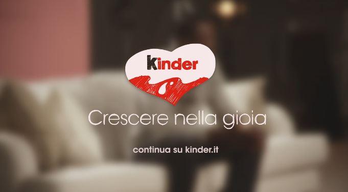Canzone Kinder pubblicità storie di gioia - Musica spot Gennaio 2017