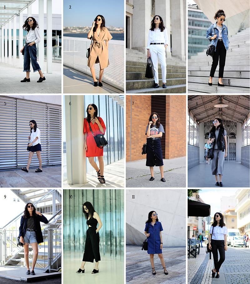 June Outfit Recap