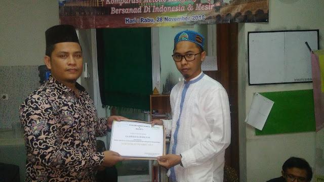 Komparasi Metode menghafal Al-Quran Bersanad di Indonesia dan Mesir