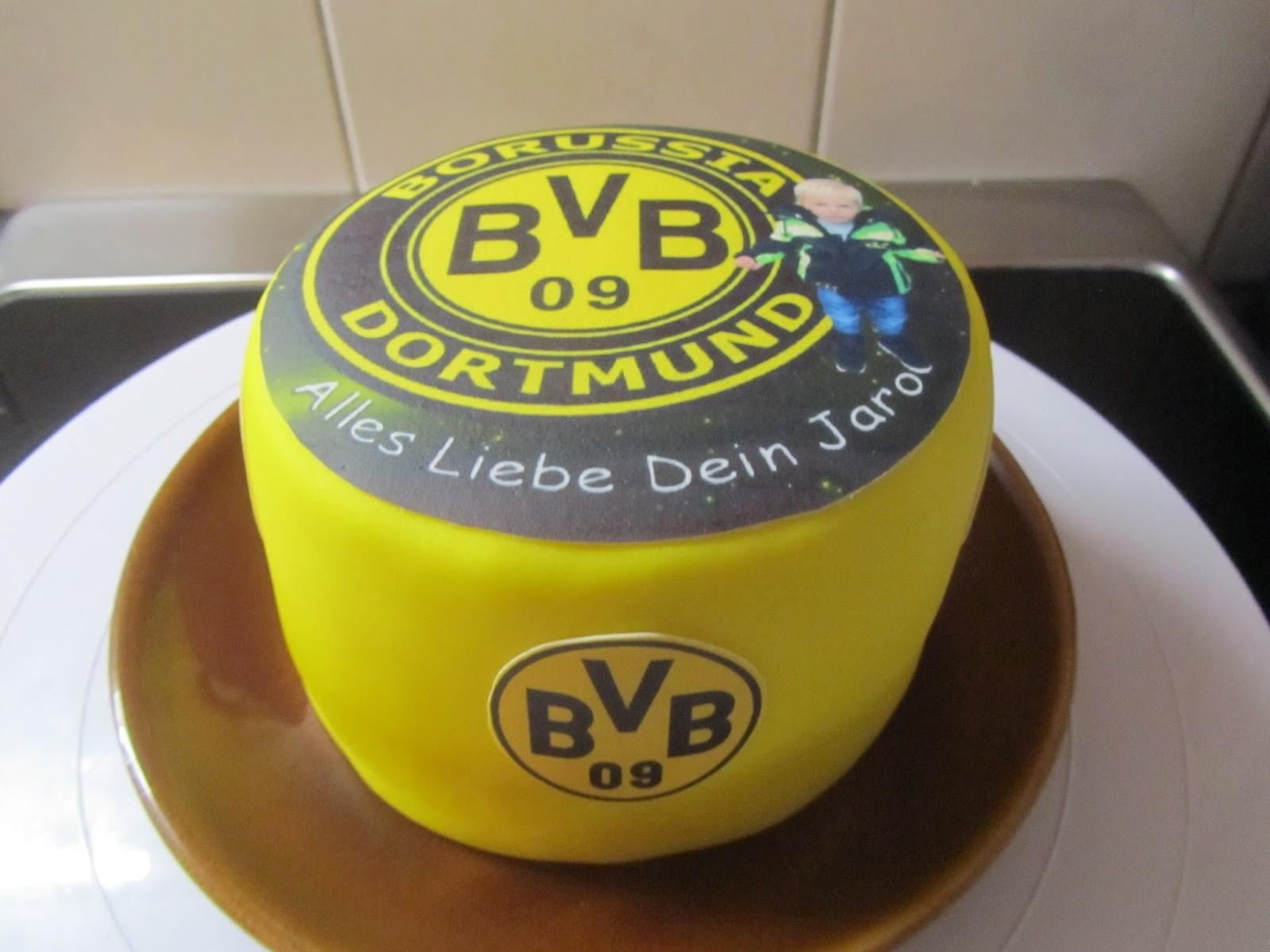 Bvb Torte Anke S Torten Wunsch