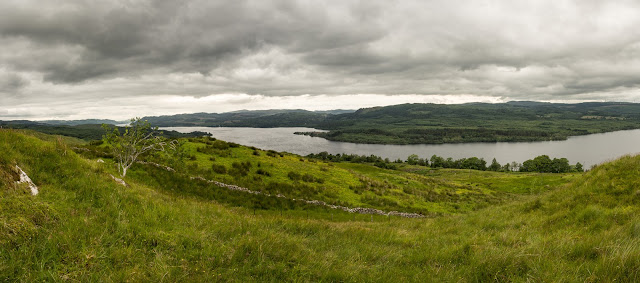 Photo of the impressive view of Loch Awe from the hills
