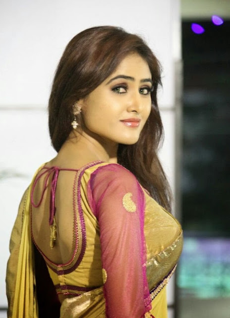 Bhojpuri-Beautiful-Figure-In-Sari