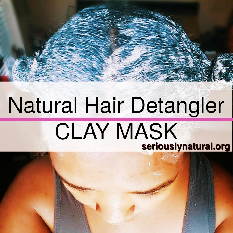Click here to buy CAROL'S DAUGHTER RHASSOUL CLAY SOFTENING HAIR MASK, a great clay hair mask to help detangle your natural hair.