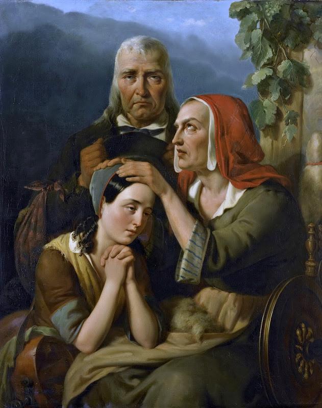 Moritz Calisch - Mother's Blessing (1844)