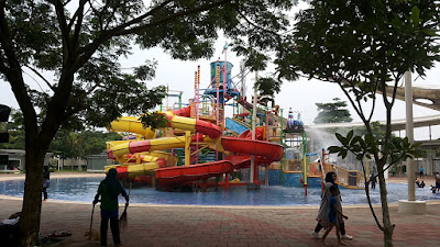 Arena Go!Splash, cocok untuk anak-anak, Go Wet Grand Wisata Bekasi