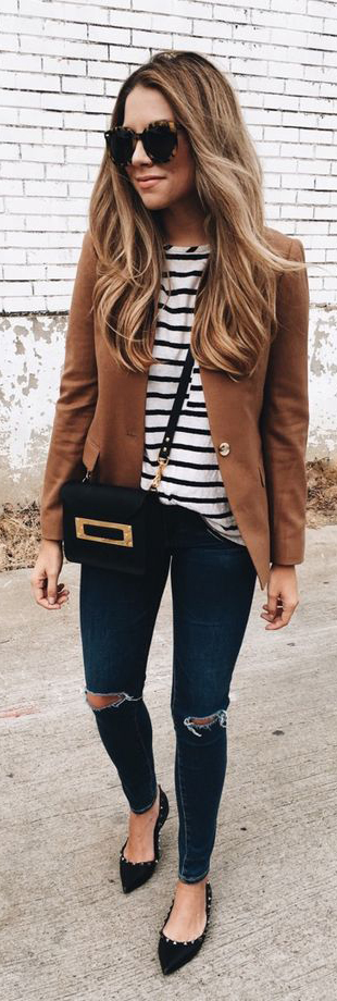 Spring Outfits Pinterest to Try Now #SpringOutfits