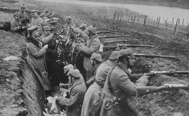 Marcas da primeira guerra mundial
