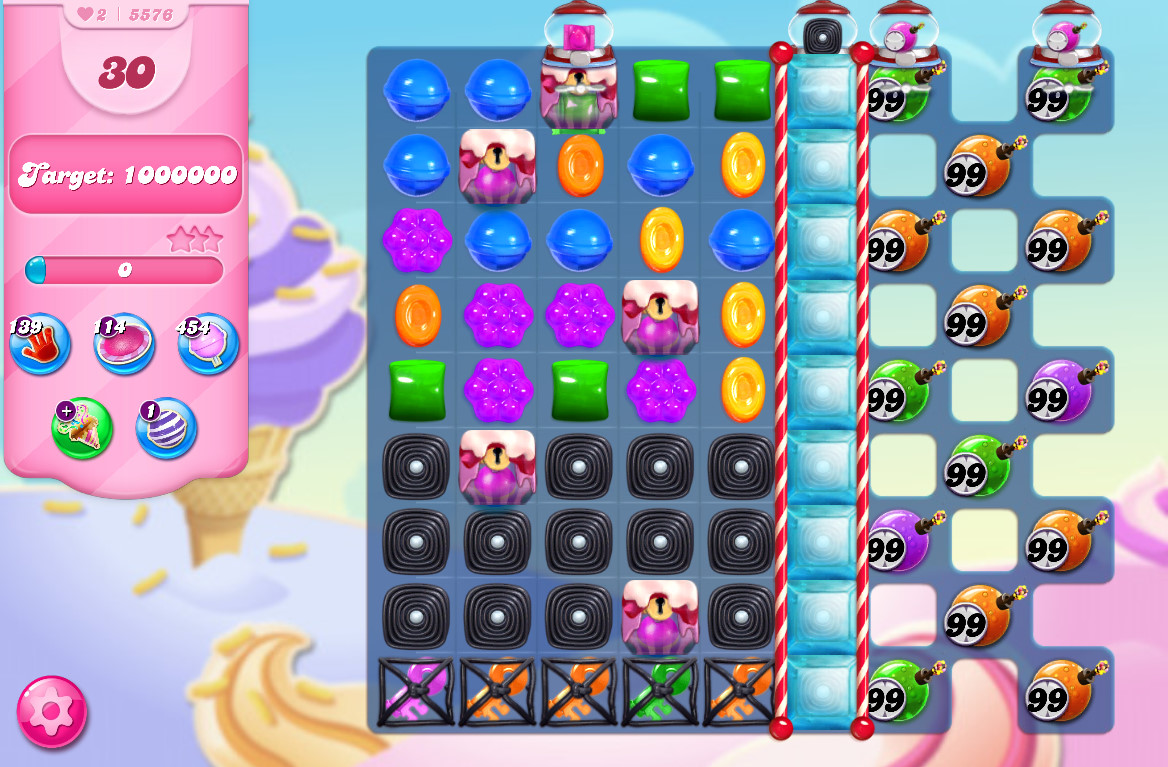 Candy Crush Saga level 5576