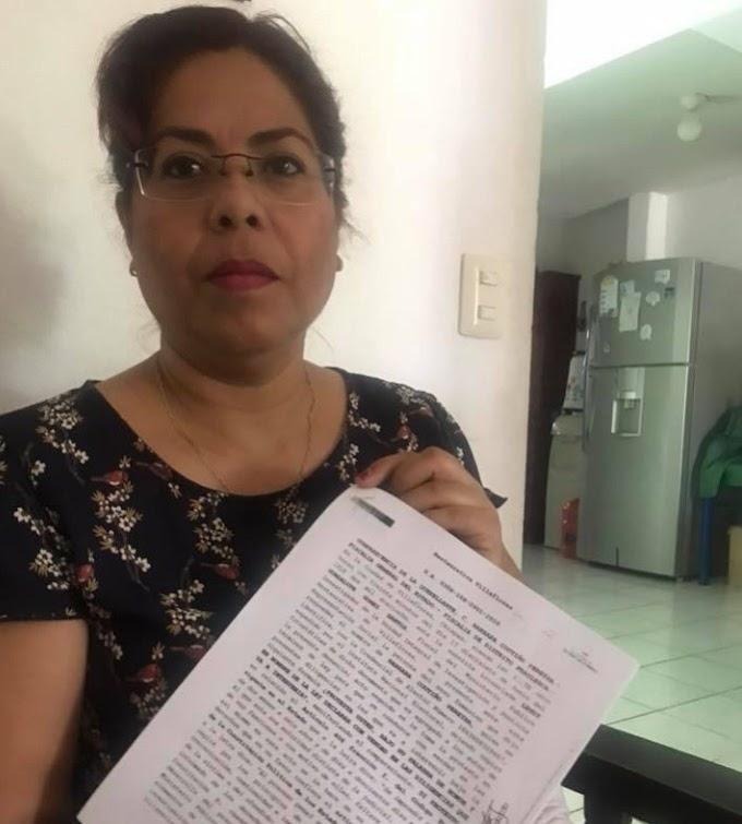 La esposa de expresidente municipal de Villaflores fue acusada de despojar de un bien inmueble aun menor de edad