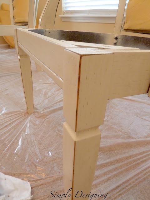 Glaze furniture 05a How to Refinish Furniture: Glazing 30