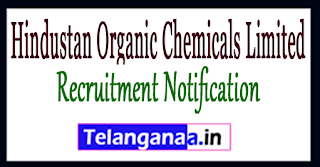 HOCL  Hindustan Organic Chemicals Limited Recruitment Notification 2017