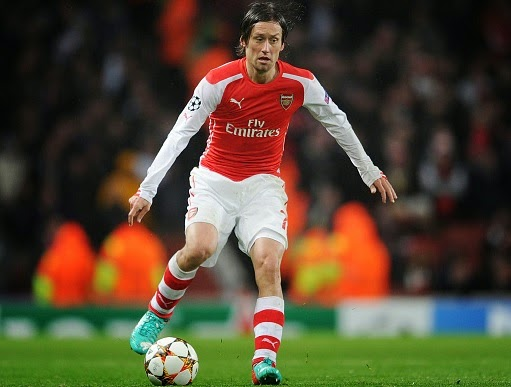 Arsenal's Tomas Rosicky on Olympiakos radar