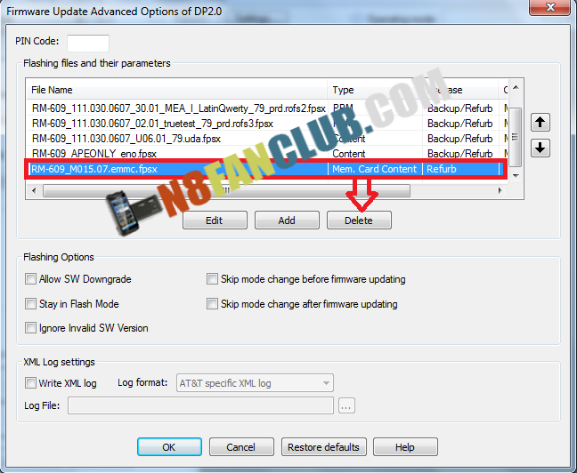 How to Flash Symbian Belle on Nokia E6 - v111 030 0607 - Step by