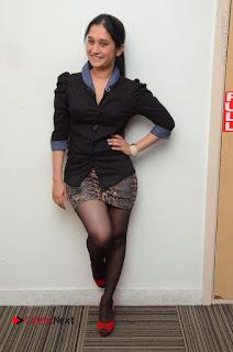 Telugu Actress Priyanka Pallavi Stills in Micro Mini Skirt at Nenosthaa Movie Song Launch at Radio City  0068.JPG