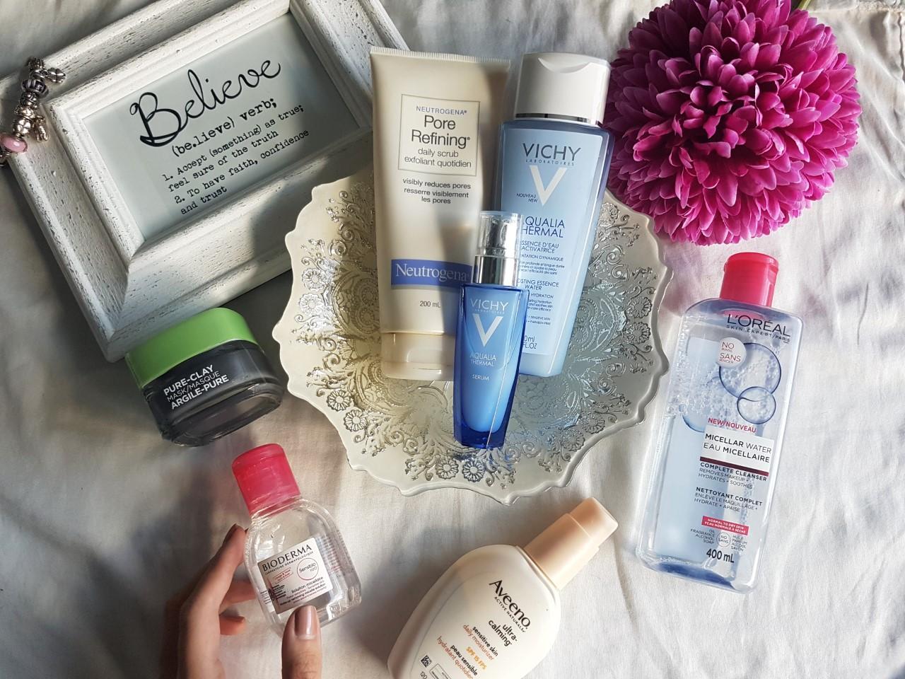 skincare, beauty, neutrogena, Vichy, bioderma, health, skin health