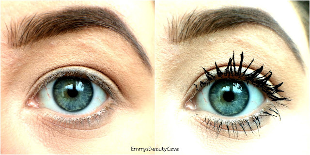 Charlotte Tilbury Legendary Lashes Mascara Before and After