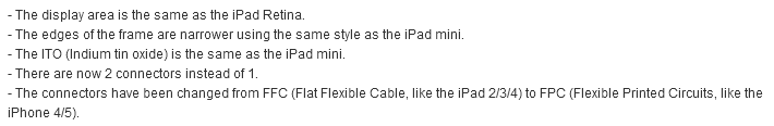 iPad 5 Product Description