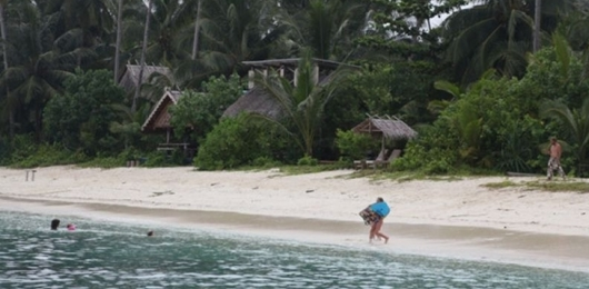 Wagub Nasrul Abit Puji Keindahan Pulau Sanding Pagai Selatan