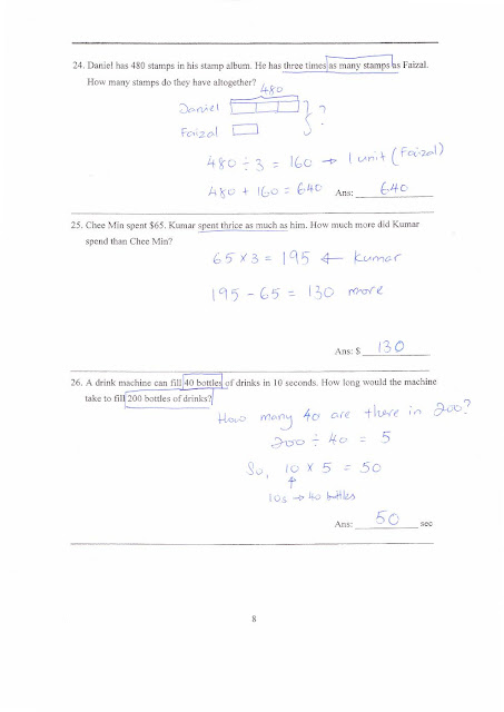 RIVBE4: 19 Aug eLearning: Math CA2 Practice Paper 1