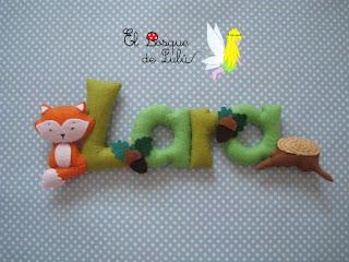 nombre-fieltro-felt-feltro-Lara-elbosquedelulu-name-banner-decoración-infantil-regalo-personalizado