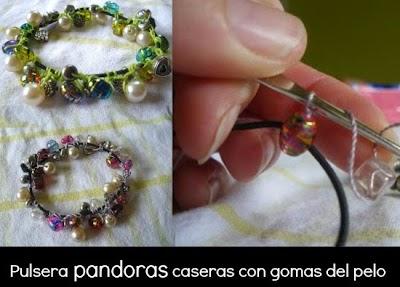 Como hacer una Pulsera Pandora casera