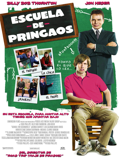 Ver Escuela de pringaos (School for Scoundrels) (2006) Online