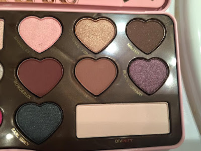 teintes palette Chocolate Bon Bons Too Faced