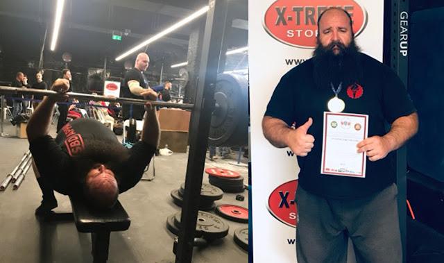 Λύγισε τις μπάρες ο γίγαντας Μανώλης Παφύλιας από την Αργολίδα στο European Powerlifting Festival