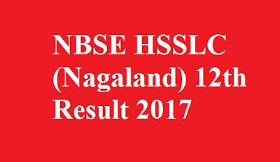 Nagaland 12th Result 2017