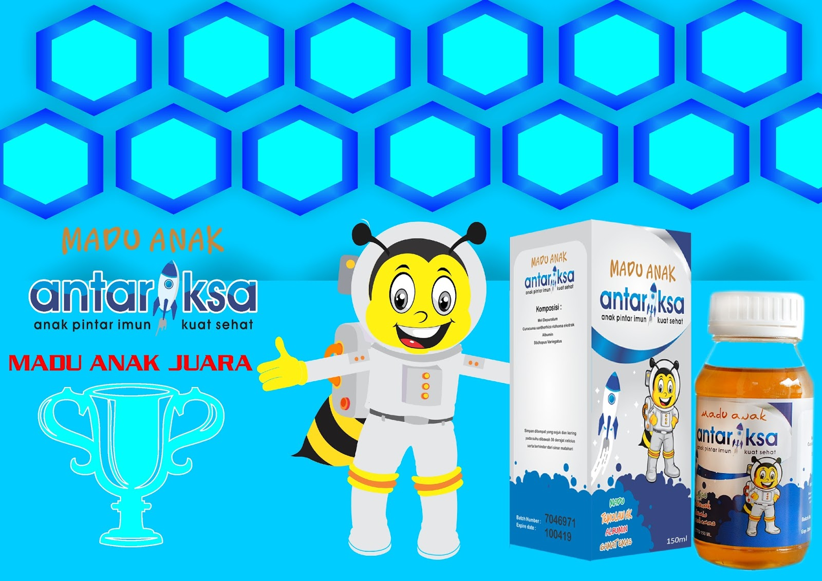 Vitamin Anak Madu Antariksa Untuk Anak Juara