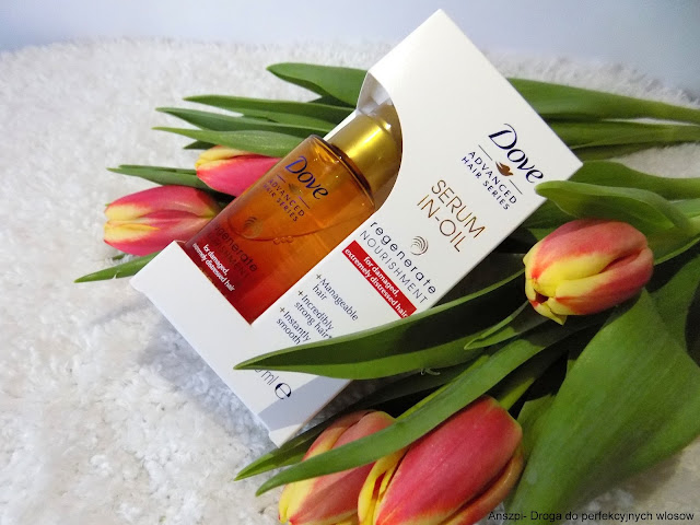 Serum i olejek 2w1 Regenerate Nourishment, Dove