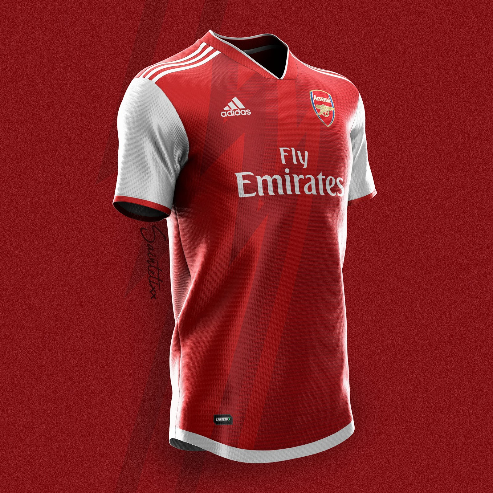 Adidas Arsenal 19-20 Home, Away & Third Kit Concepts by ...