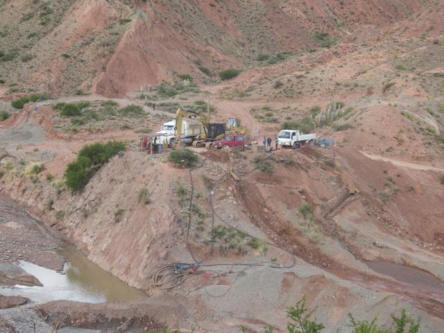 Besuch bei den Goldschüfern etwas oberhalb von Esmoraca.