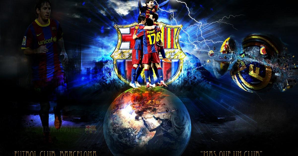 Wallpaper Barcelona Fc 3d Imagenes Del Equipo Futbol Club Barcelona