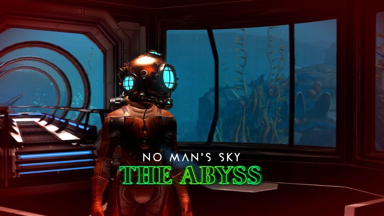 27486abe7a2 Chegou ontem (29 10) a atualização de Halloween do jogo No Man s Sky.  Chamada de The Abyss
