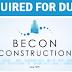 Now Hiring Becon Construction (BC) - Dubai
