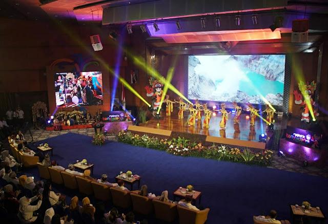 Peresmian Banyuwangi Festival 2020 disiarkan lewat channel Youtube.