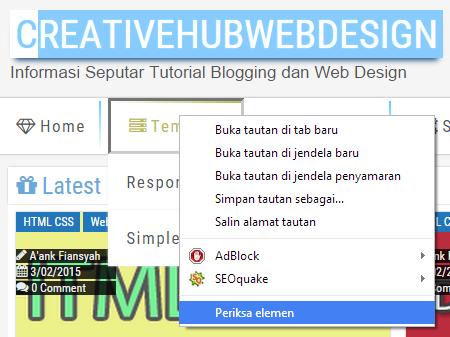 Cara Mudah Merombak / Mengedit / Memodifikasi Template Blog / Website
