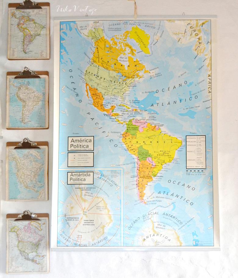 Cómo decorar un despacho con mapas murales y crasas de manera fácil