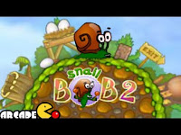 As #SnailBob you must tarry your your to your uncle's #BirthdayParty before it's too late! #SnailBob2 #AdventureGames #PlatformGames