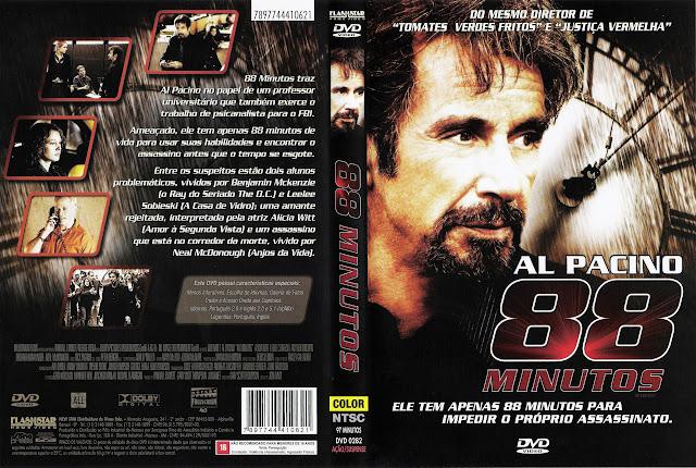 Capa DVD 88 MINUTOS