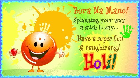Happy Holi 2017 Wishes for Family Relatives