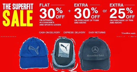 Flat 30% Off + Extra 25% or 30% Off on Puma / Nike / Adidas Caps & Backpacks at Planetsports