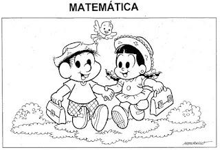 Capa caderno matemática