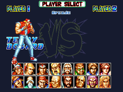 MUGEN PLAYER: FATAL FURY SPECIAL BY HEAT GAMES