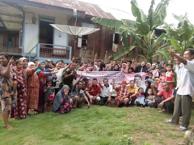 Kecamatan Telang Padang Siap Menangkan Jokowi-Ma'ruf Amin