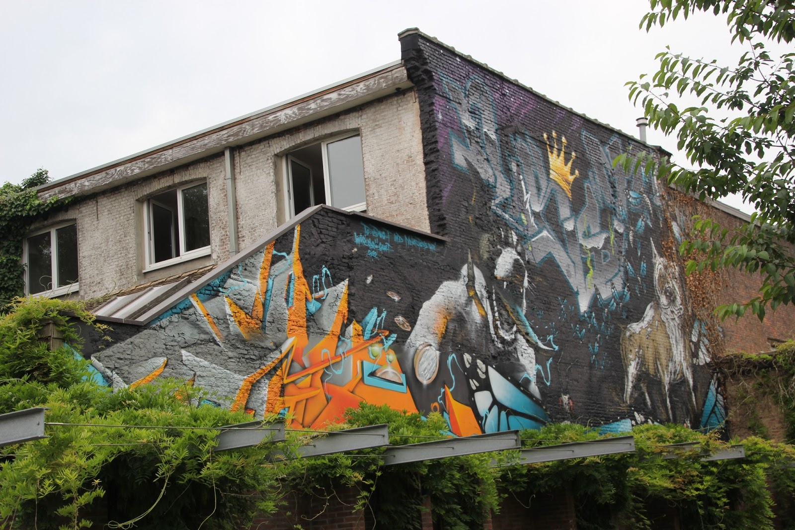 A Guide Of Where To See Graffiti In Antwerp